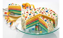 Rainbow Layer-Cake