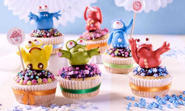 Kleine Monster Muffins