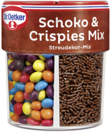 Streudekor Schoko & Crispies Mix