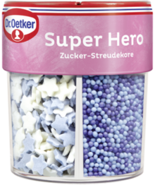 Streudekor Super Hero